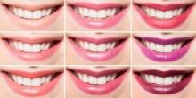 มาดูกันว่าลิปสติกสีไหนที่จะช่วยให้ฟันดูขาวขึ้น