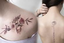 รวมไอเดียรอยสักสไตล์ Feminine Tattoo!! โดนในสาวๆ