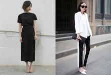 ไอเดียชุดสีสุภาพ ดีงามตามกาลเทศะ สไตล์ ขาว-ดำ