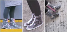 ปลอกรองเท้ากันน้ำของสาวญี่ปุ่น มุ้งมิ้งระดับสิบ!