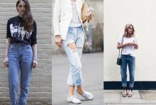 ยีนส์รัดๆหลบไปก่อน เทรนด์ Boyfriend Jeans สุดคูล กำลังมา !