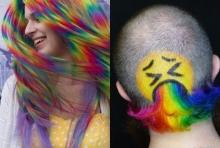 สาย ฝ. กำลังฮิต! ไอเดียสีผม Rainbow สุดแซ่บบวกลาย Emotion หลายฟีลลิ่ง
