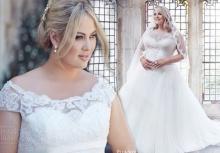 ชุดแต่งงานสำหรับสาวอวบอ้วน สวยๆเริ่ดๆทั้งนั้นเลย!!