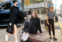 สวยเรียบ!! ไอเดียมิกซ์&แมทช์เสื้อผ้า 'ขาว + ดำ' ให้มีสไตล์!!