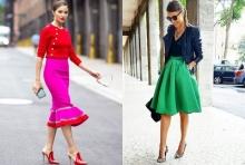 ไอเดียชุดทำงานสีสุดจี๊ด เพราะผู้หญิงอย่าหยุดสวย