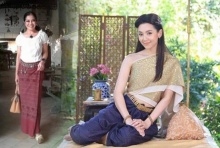 ผ้าไทยใส่เล่นน้ำสงกรานต์ เลือกอย่างไรสวยบรรเจิด!
