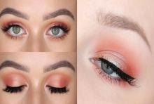 6 แต่งตาตามสี CORAL เข้าเทรนด์สี 2019